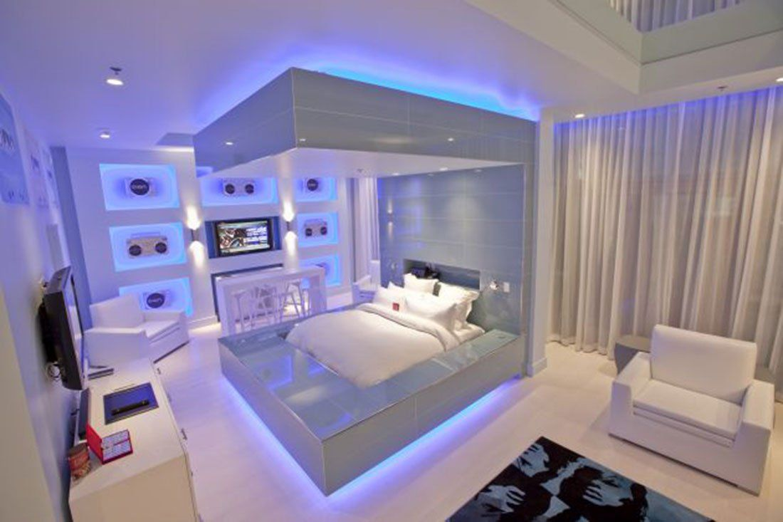 Led Strip Light W Remote Control Dream Rooms Awesome Bedrooms Room Ideas Bedroom