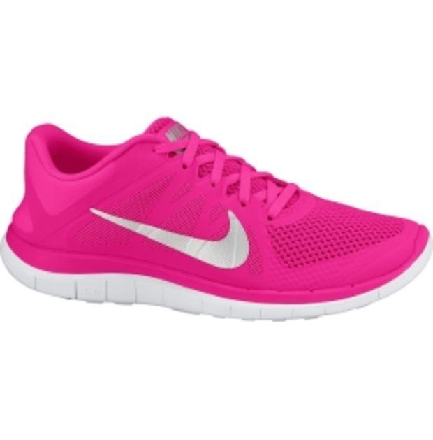Nike Womens Free Running Shoes Pink Yellow White 642200 678 [New Nike Frees  2014 -