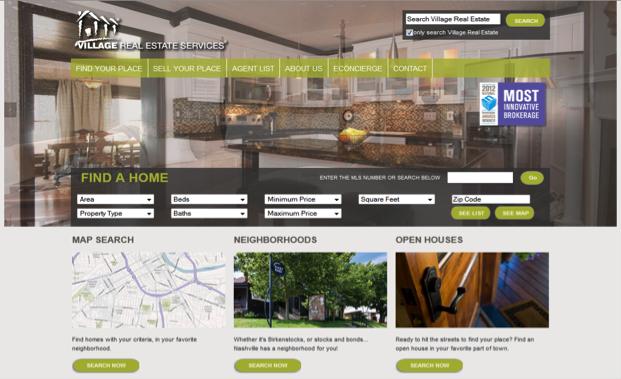 fantastic website homepage ideas. 10 Fantastic Real Estate Web Designs  estate design