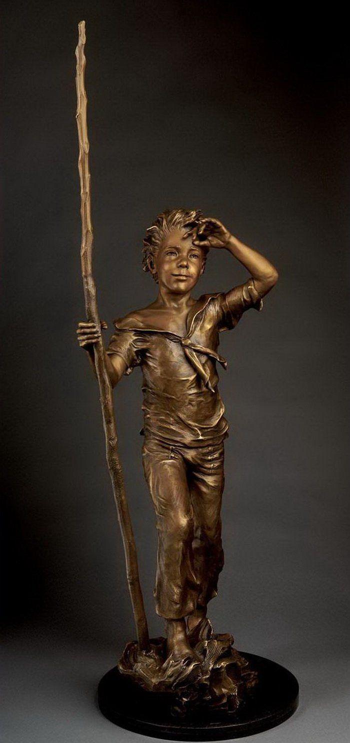bronz çocuklar sanat