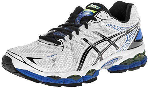 ASICS Men's Gel-Nimbus 16 Running Shoe,White/Black/Royal,10.5