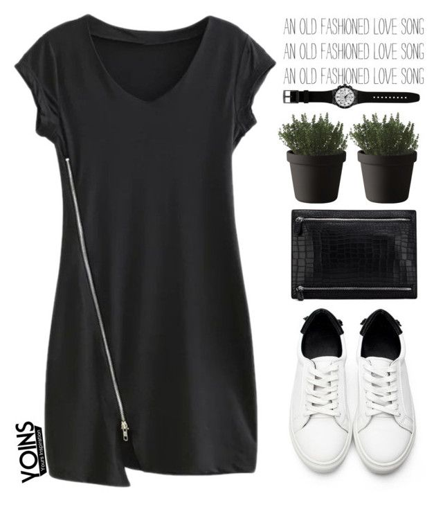 """Yoins 48"" by mihreta-m ❤ liked on Polyvore featuring Swatch, Muuto and yoins"