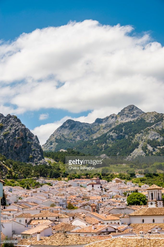 Grazalema | Cadiz Province, Andalusia, Spain. | #stockphotos #gettyimages #print #travel