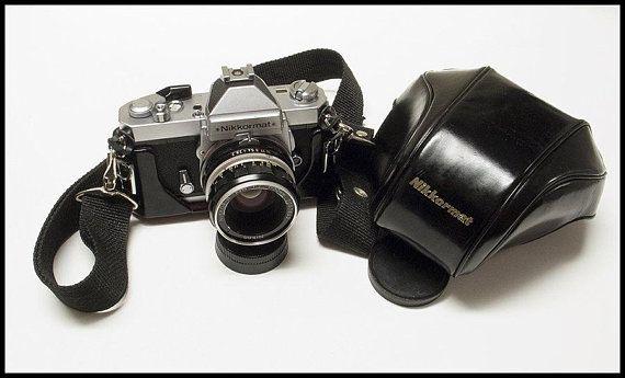 Nikon Nikkormat Ft2 Vintage Nikon 35mm Film Camera With A 50mm