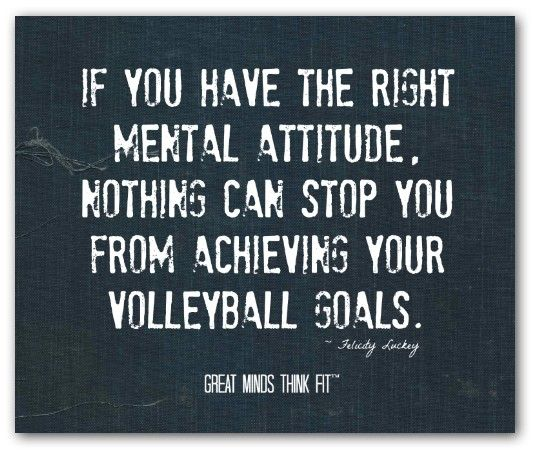 volleyball #inspirational #quotes | Inspirational volleyball ...