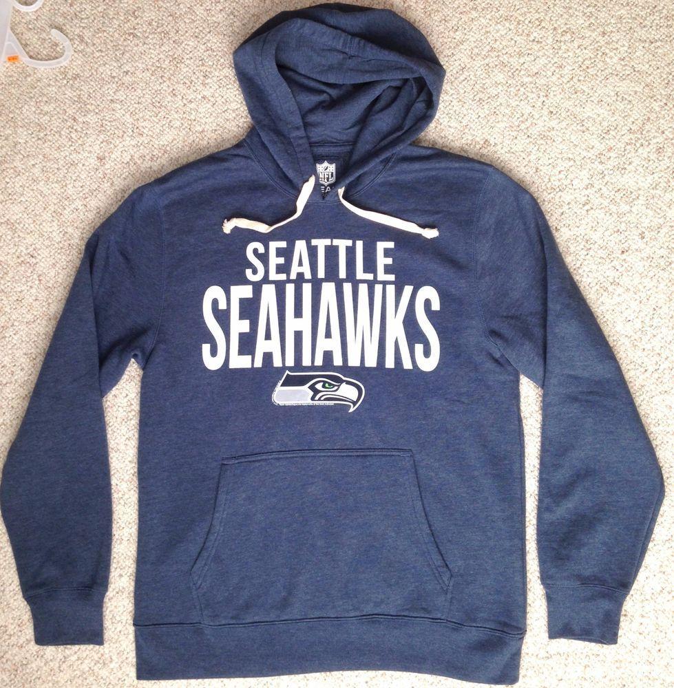 Soft new seattle seahawks hoodie heather navy blue sweatshirt mens adult  jpg 979x1000 Shirts mens seattle 8528bf400