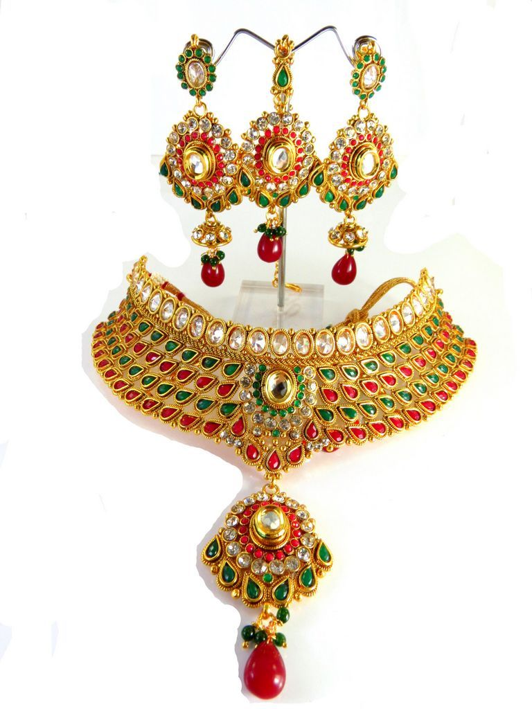 Wholesale Indian jewelry sets manufacturer of costume ...