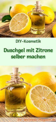 Photo of Duschgel mit Zitrone selber machen – Rezept und Anleitung
