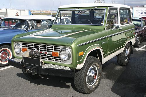Ford Bronco 76 With Images Ford Bronco Classic Trucks My