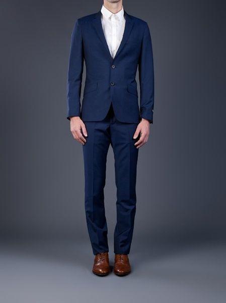 65d6833e1c0c Paul Smith Blue Suit in Blue for Men - Lyst
