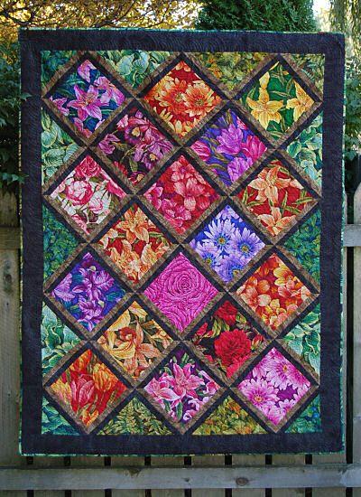 Tuesday Garden Club Quilt By Hedgehog Quilts Beginner