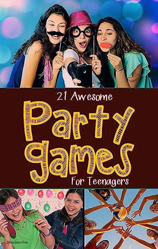 21 Fun Party Games For Teenagers