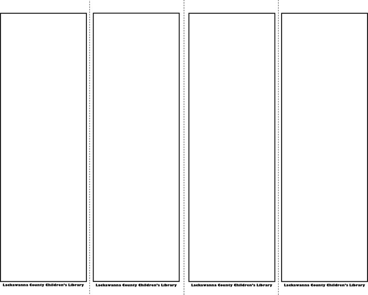 Bookmark Template 1 Bookmark Template Templates Bookmark