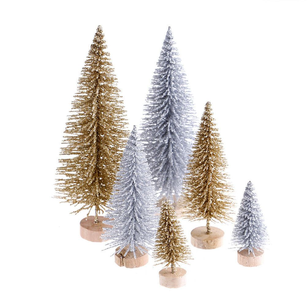 Details About 3pcs Stand Mini Christmas Tree Small Pine Trees Xmas Gifts Home Desktop Decory5 Mini Christmas Tree Easy Christmas Tree Decorations Small Pine Trees