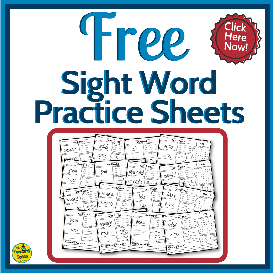 Free Worksheets Get This Set Of 30 Worksheets To Practice