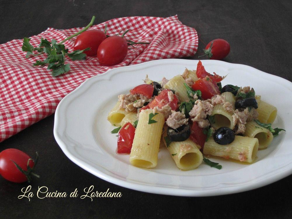pasta alla puttanesca con il tonno | pasta - Pasta Veloce Da Cucinare