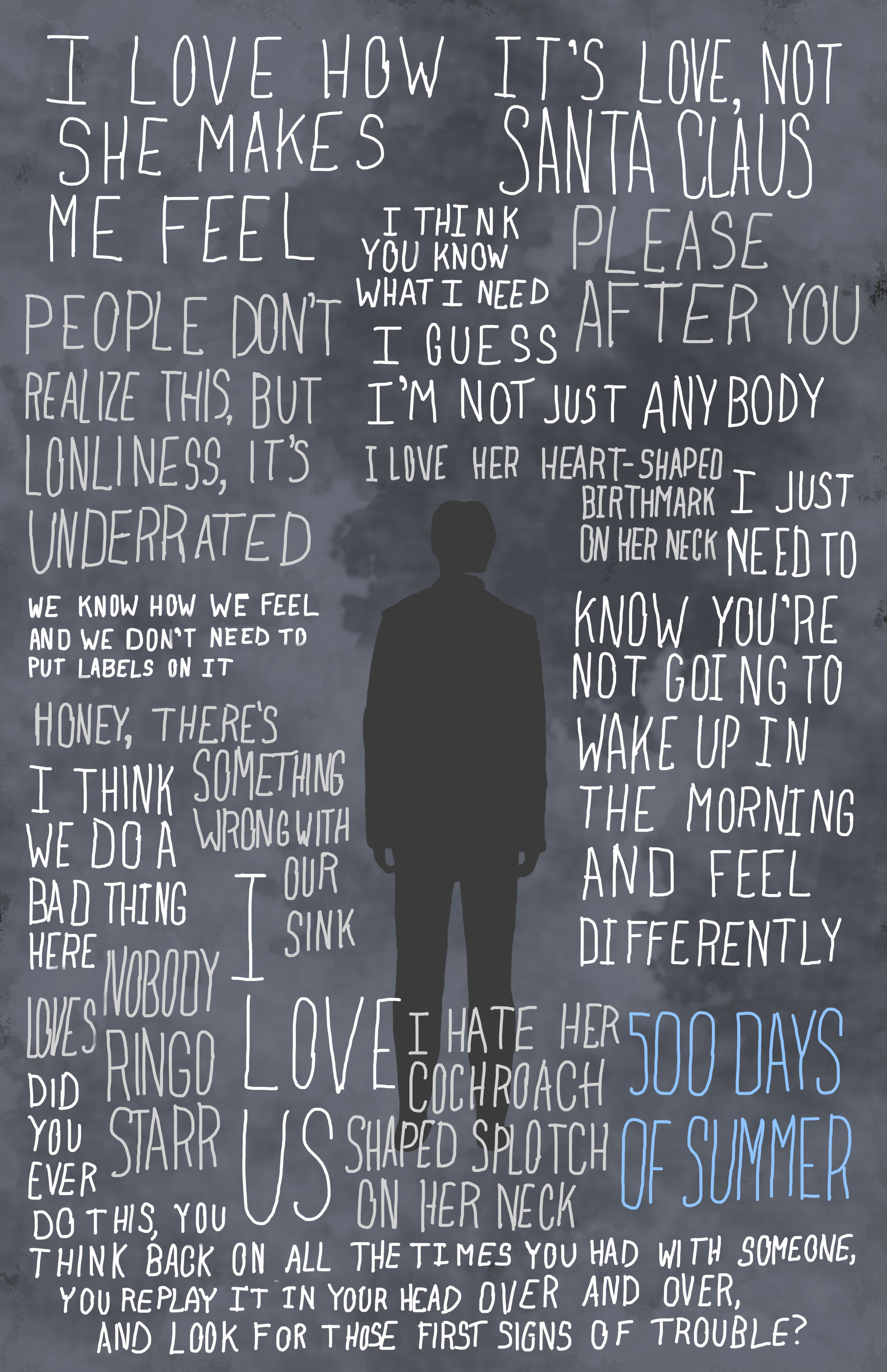 More Fanart Posters Pinterest 500 Days Of Summer 500 Days And