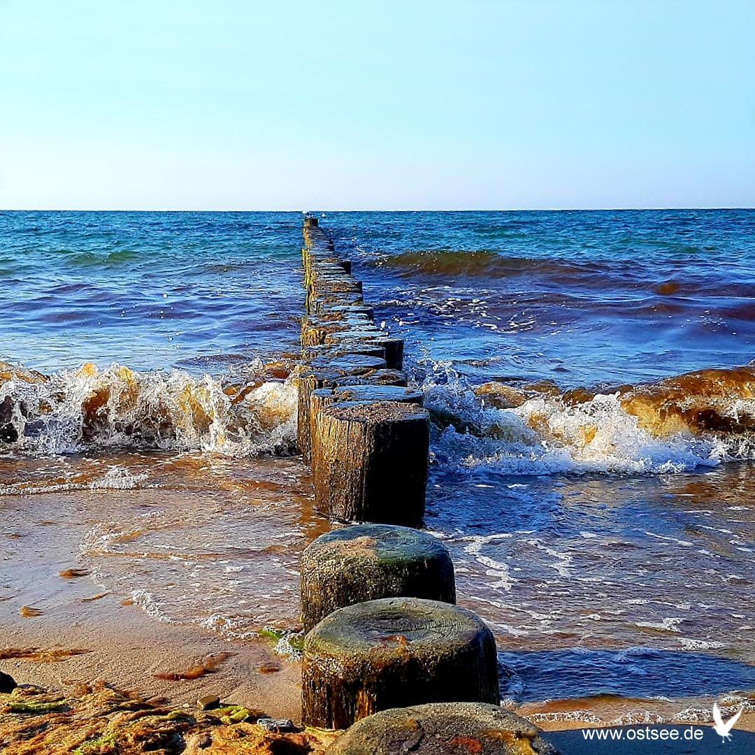 Urlaub an den Stränden der deutschen Ostsee Ostsee