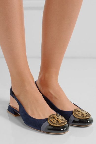 Tory Burch Suede Slingback Flats clearance shop sale Manchester 26P5Pg