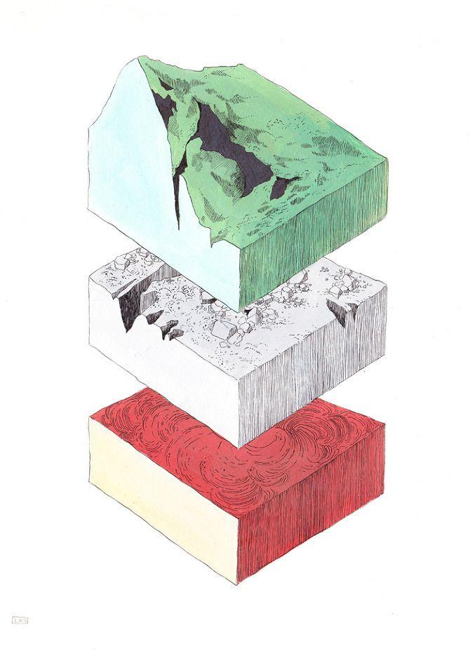 """stratigraphy"" by Lydia Kasumi"