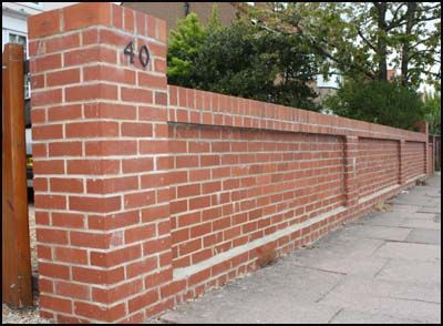 Brick Wall Post   Google Search