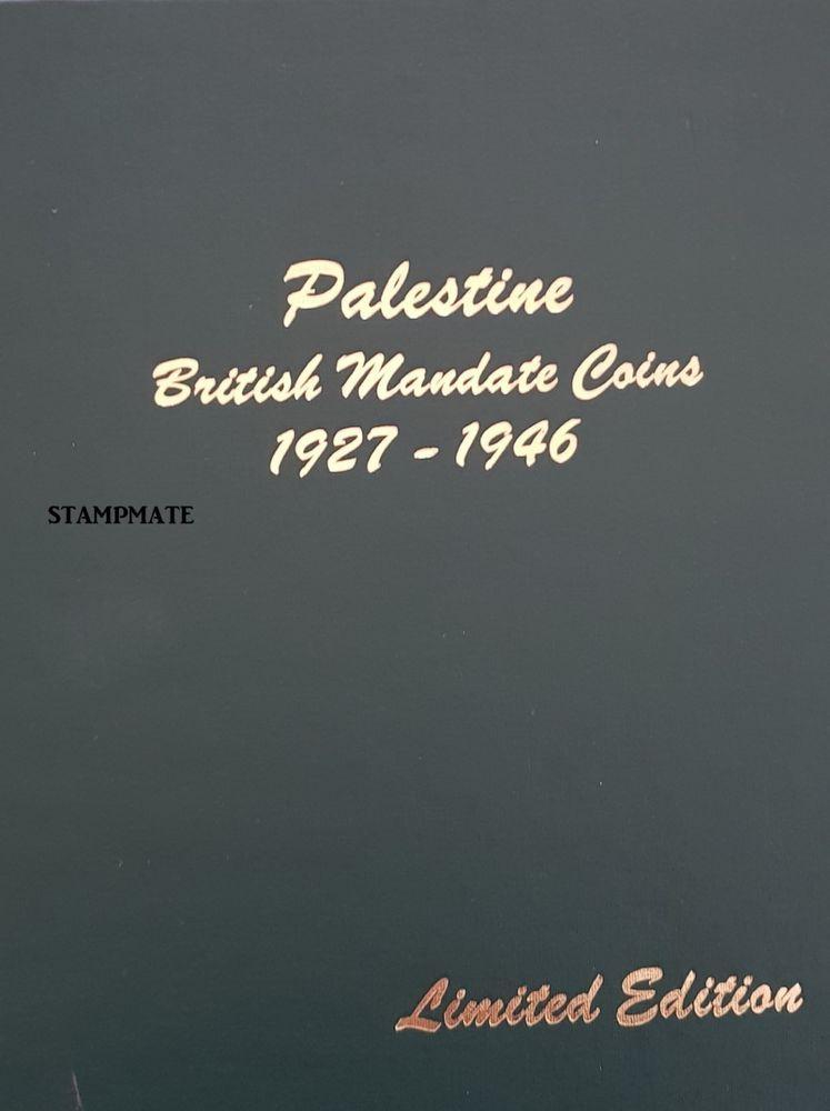 NEW ORIGINAL PALESTINE DANSCO BRITISH MANDATE COINS ALBUM