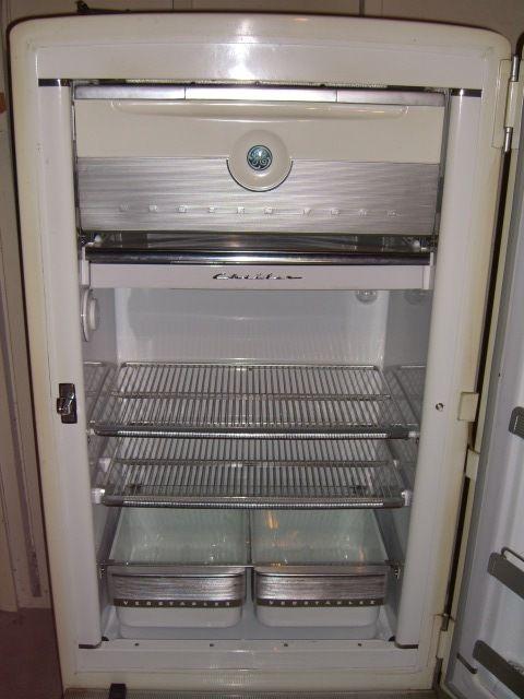 Vintage 1950 S General Electric Refrigerator Excellent