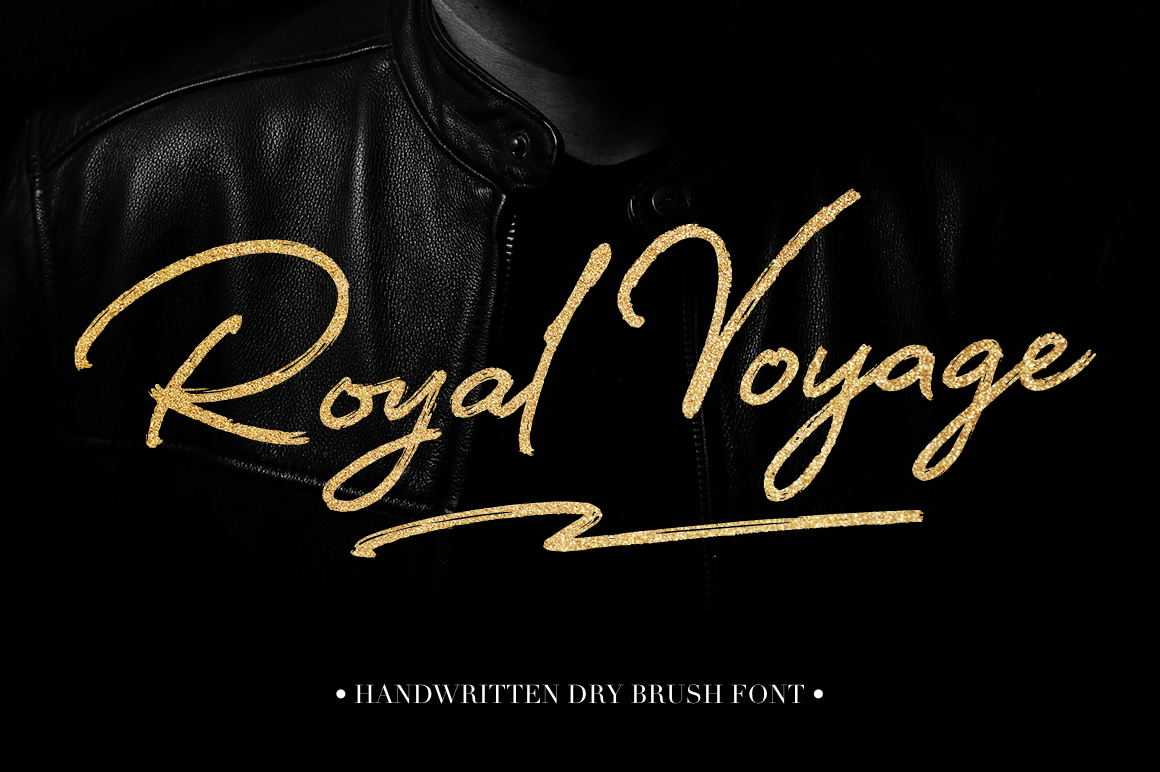 Royal Voyage by Larina Type Co. available at FontBundles