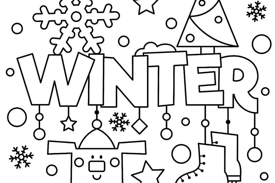 january themed coloring pages di 2020 Gambar