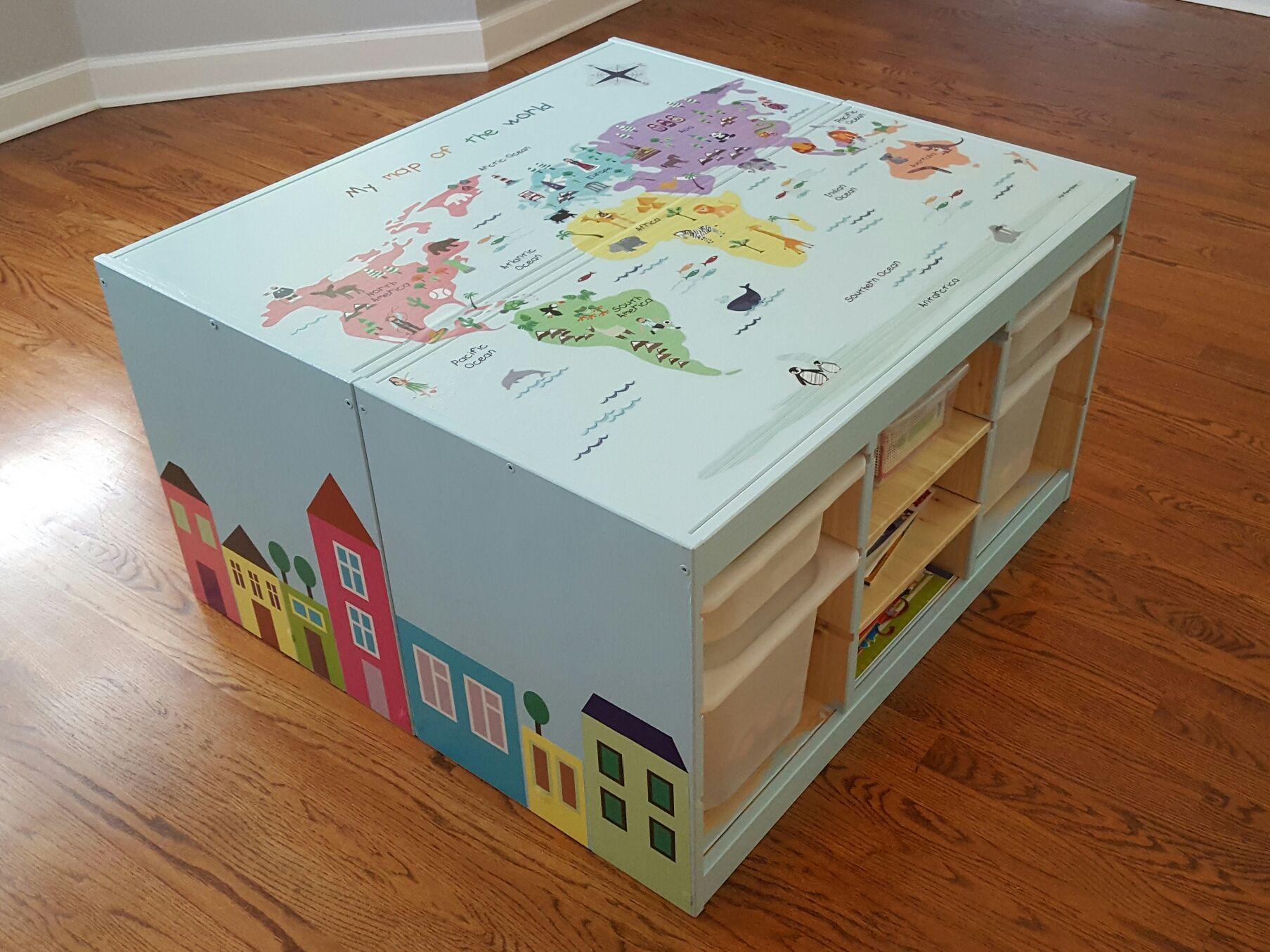 ikea trofast hack diy for kids pinterest kinderzimmer ikea ideen und neue wohnung. Black Bedroom Furniture Sets. Home Design Ideas