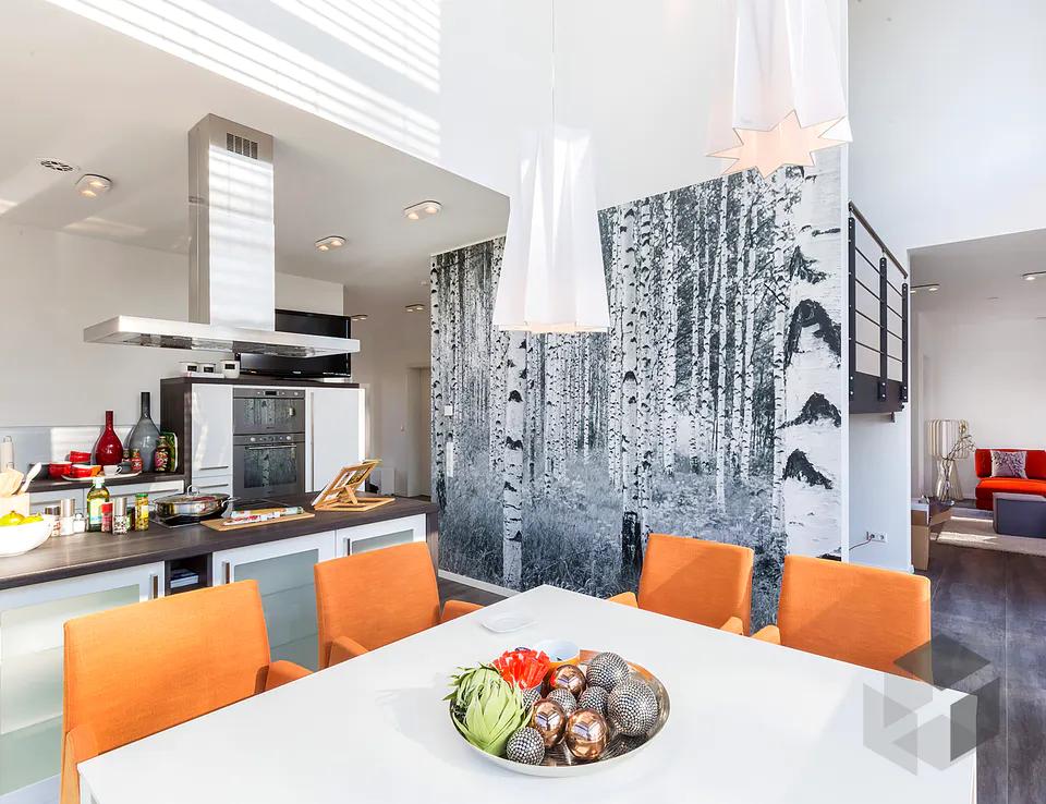 Kücheneinrichtung aus dem 'Musterhaus Ingolstadt' von OKAL