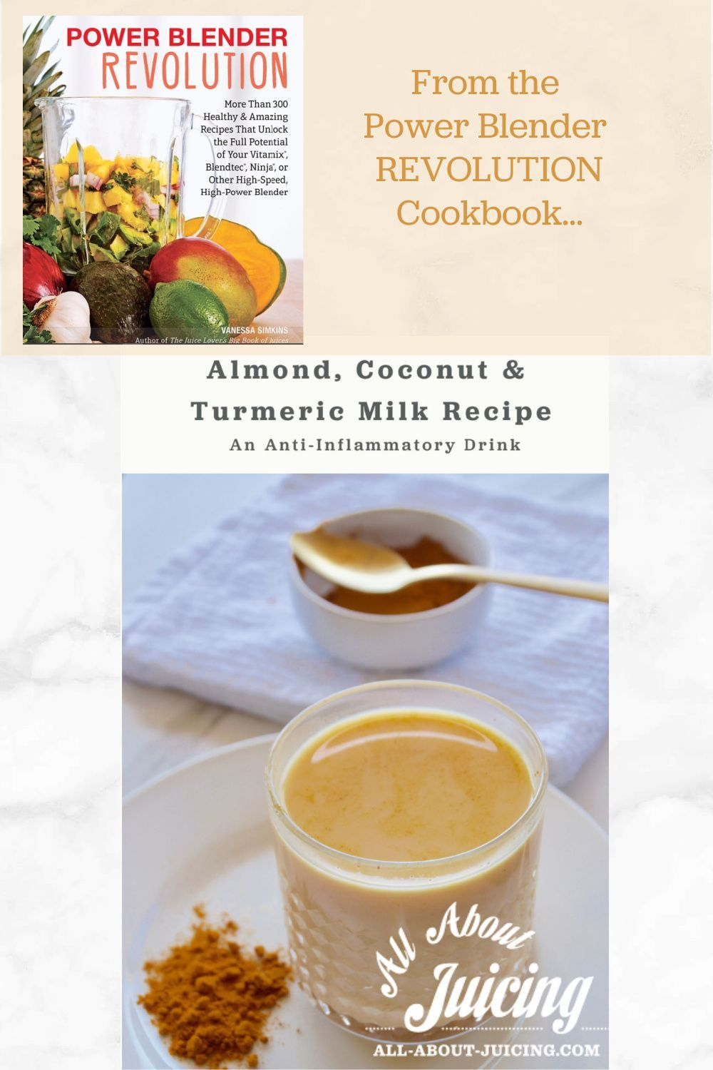 Almond Coconut Turmeric Milk Recipe To Fight Inflammation In 2020 Turmeric Milk Recipe Best Nutrition Food Healthy Nutrition Foods