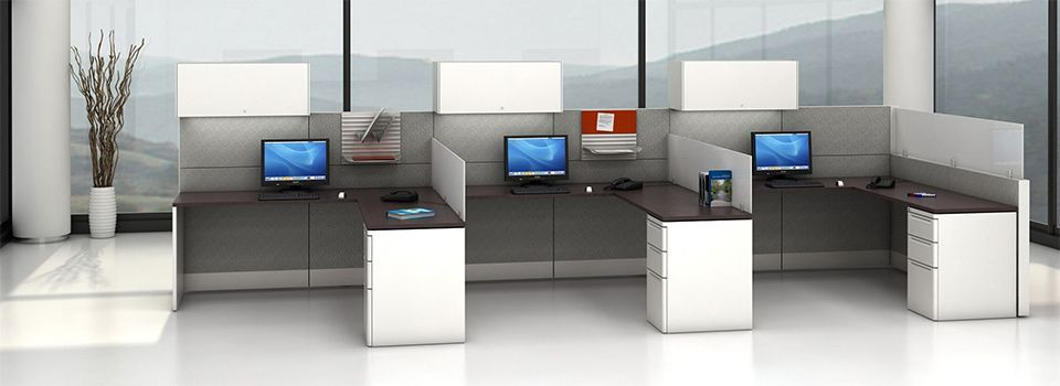 Smart office furniture and installations new used office for Modern real estate office design