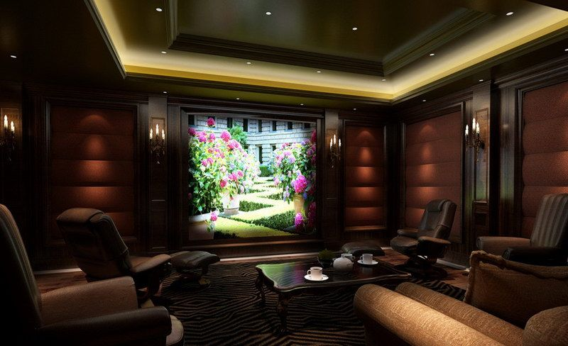 15 Awesome Basement Home Theater Cinema Room Ideas  Basements Enchanting Living Room Home Theater Ideas 2018
