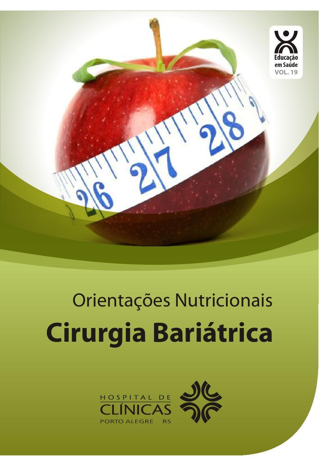 Volume 19 cirurgia bariatrica Make it simple, Food