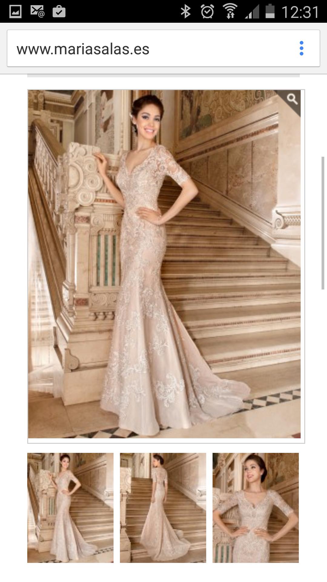 Nuevo vestido publicado! mod. Begoña ¡por sólo 1000€! ¡Ahorra un 38 ...