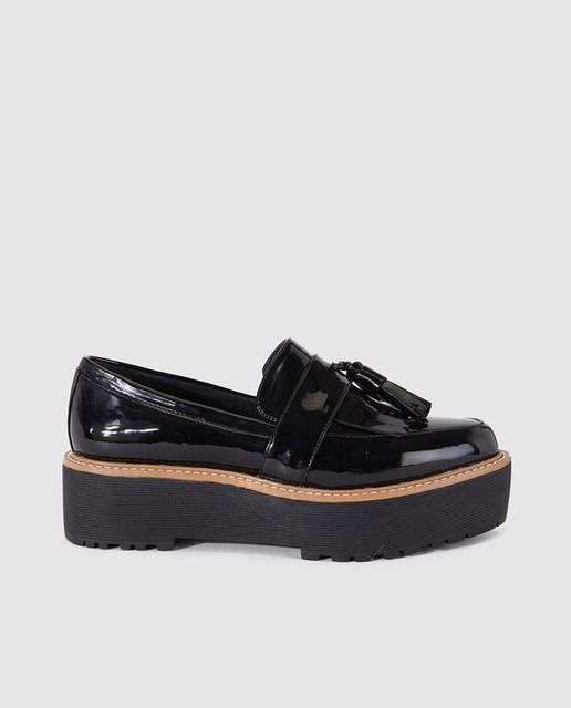 Zapatos negros 48 Hours para mujer GDtiPYPTw