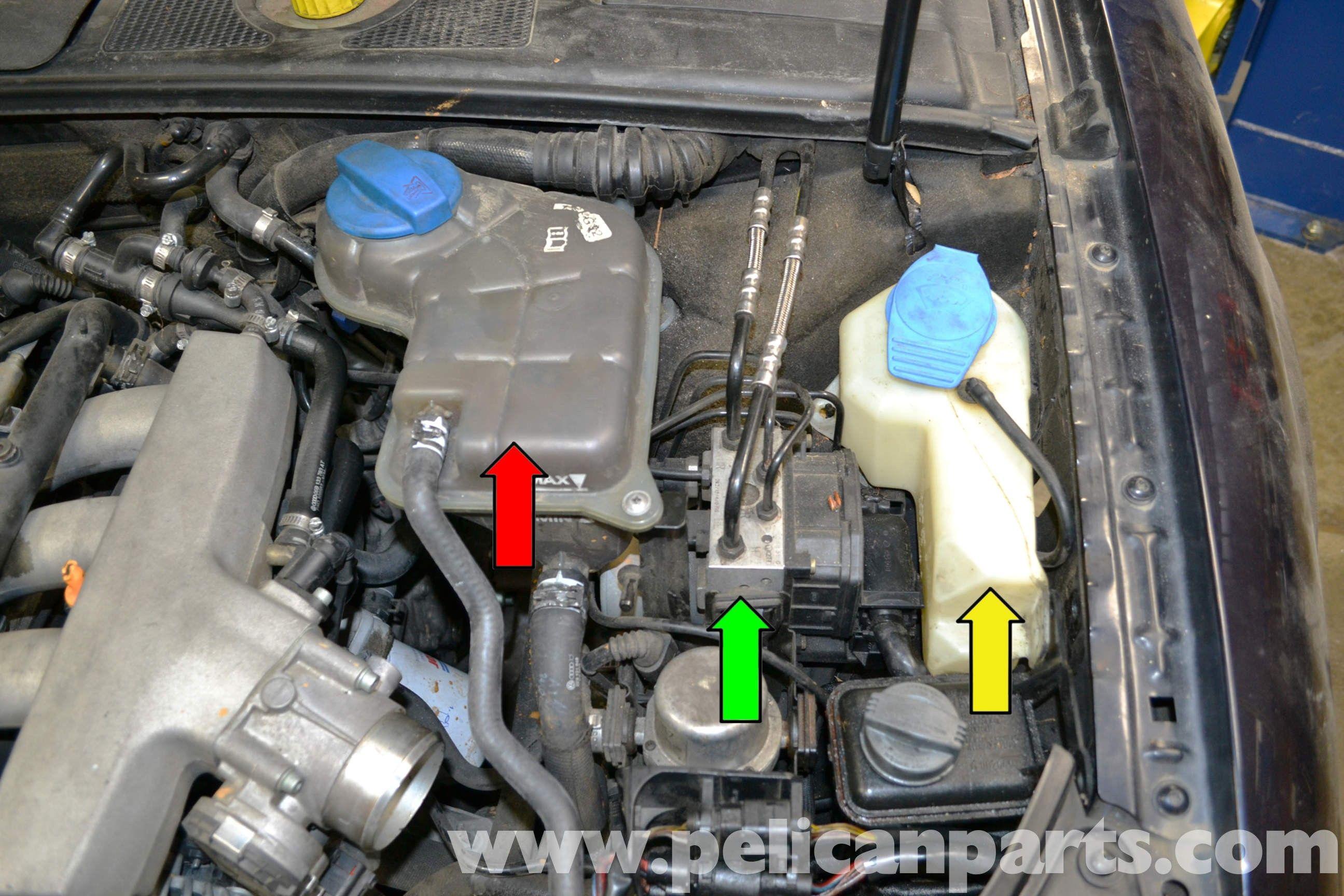Audi A4 Comfort Control Module Wiring Diagram