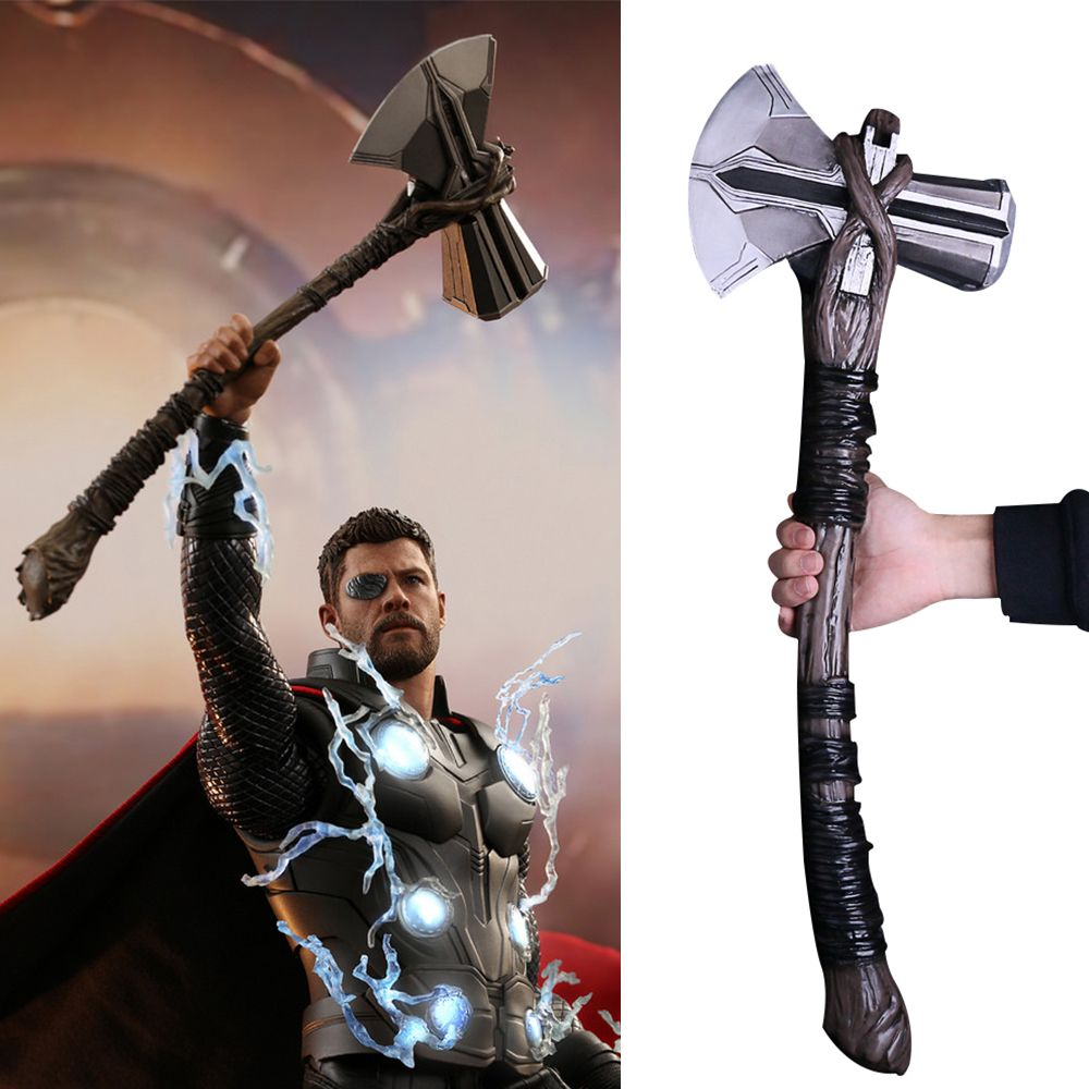 "Avengers Infinity War Weapons Accessories Thor Hammer For 6/"" Figure Toy"