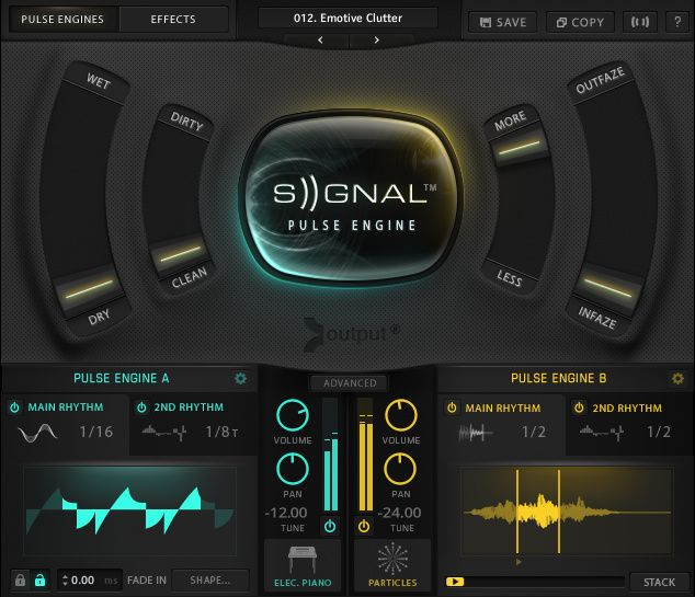 Output Signal Pulse Instrument For Kontakt In 2019 Instruments Music Audio