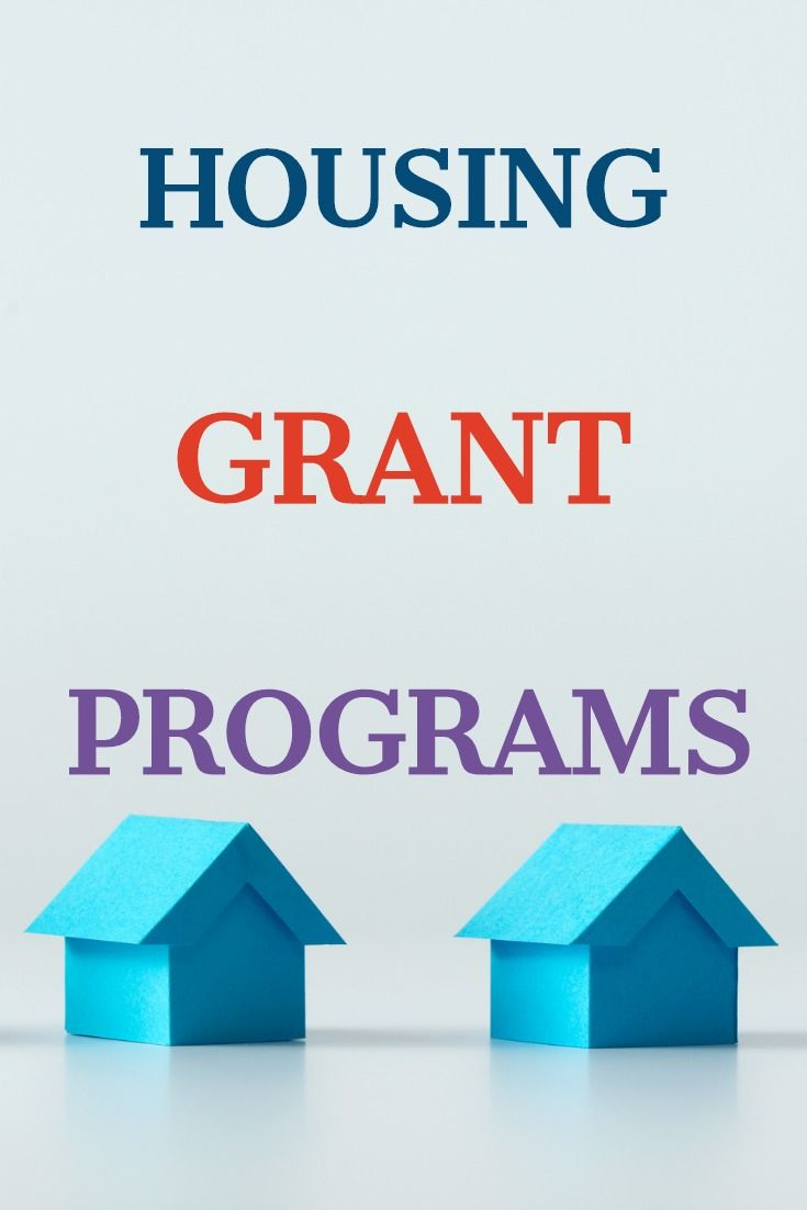 Government grants and housing assistance helpful