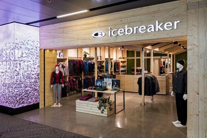 Icebreaker store by Pennant & Triumph, Wellington - New Zealand
