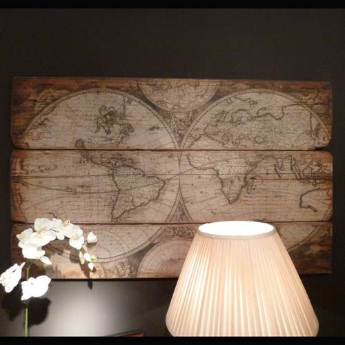 Large wooden world globe map wall hanging beau decor beau large wooden world globe map wall hanging beau decor beau decor gumiabroncs Images