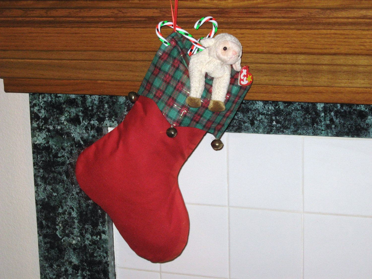 Old Fashioned Xmas Stockings - Old Style Handmade - Stockings With ...