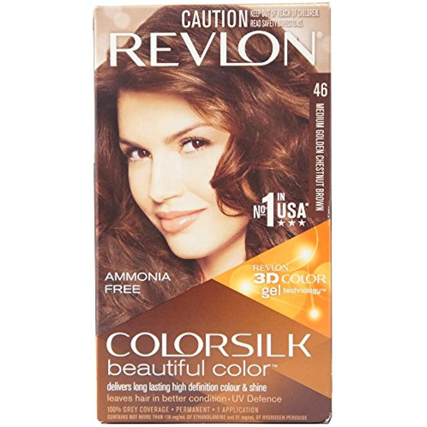 Revlon Colorsilk Beautiful Color Medium Golden