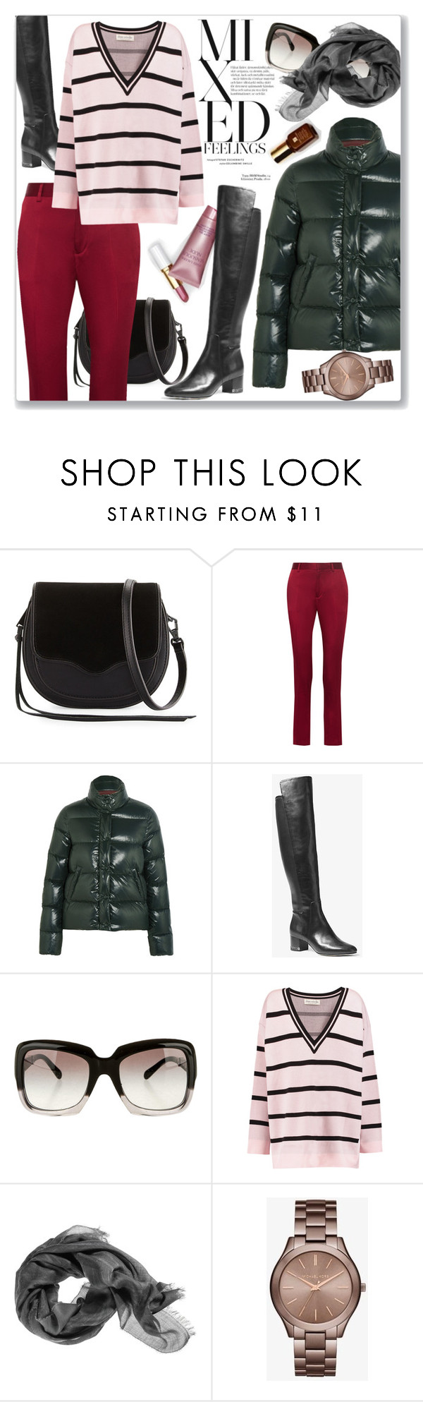 """""""Casual winter style"""" by cilita-d ❤ liked on Polyvore featuring Rebecca Minkoff, Haider Ackermann, Moncler, MICHAEL Michael Kors, Chanel, Être Cécile and Michael Kors"""