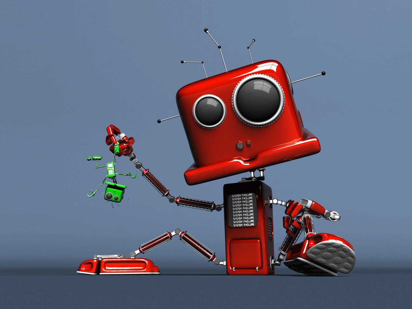 Hd robot backgrounds wallpaper wiki cute robot background amazing