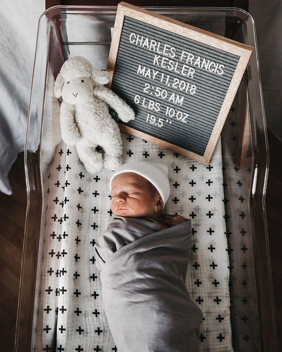 Baby Boy Birth Announcement Bundle Baby Announcement Hospital Photos Baby Girl New Baby