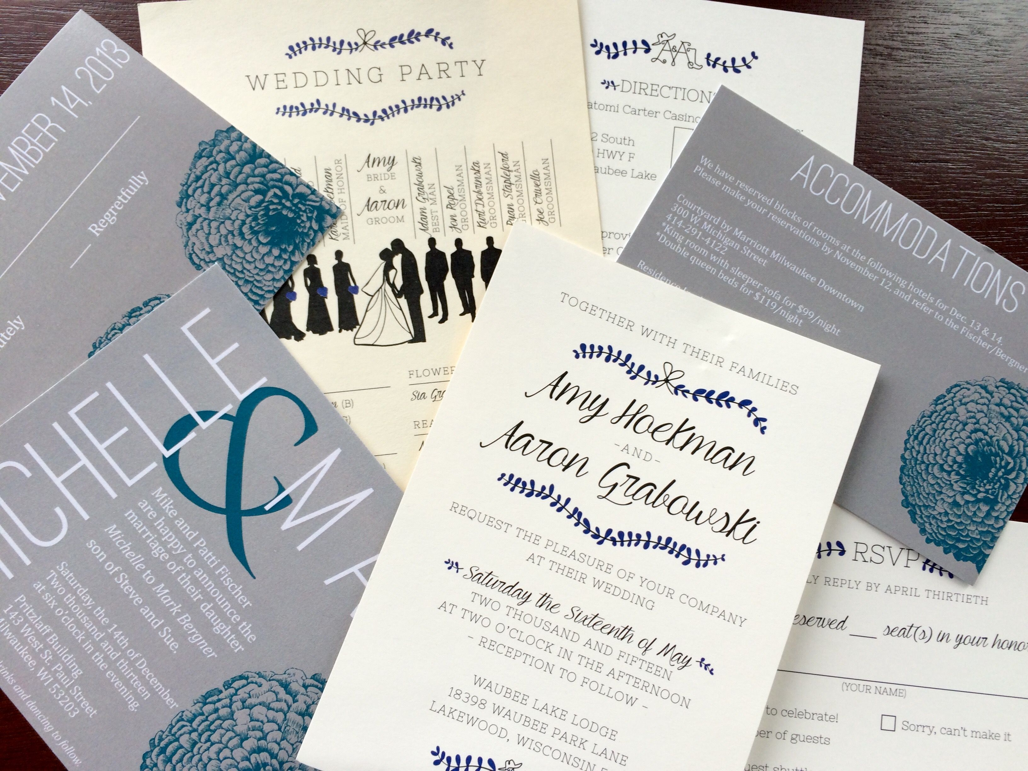 5 Tips For The Perfect Wedding Invitations │ Markel Wedding ...