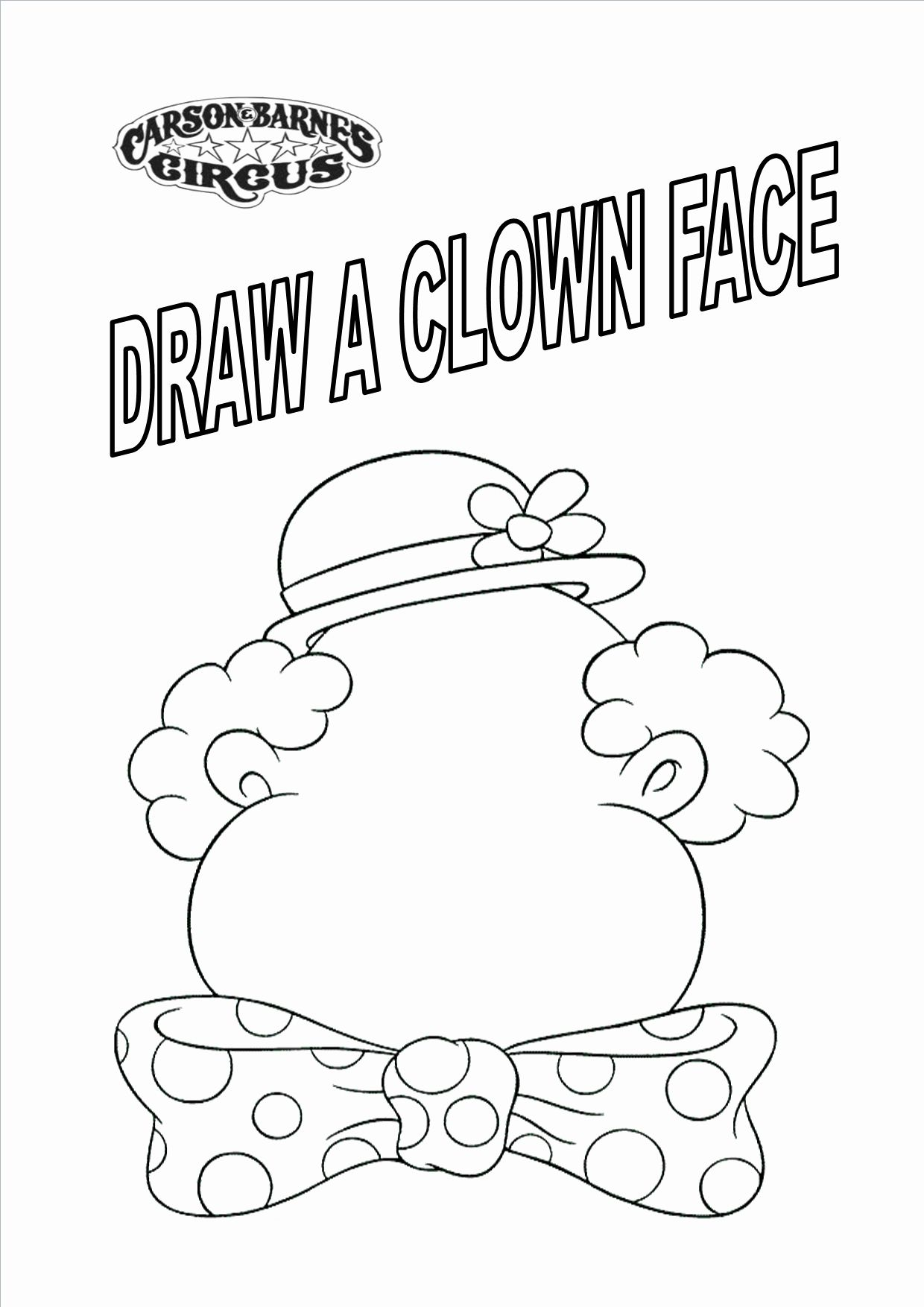 Free Circus Coloring Pages Awesome The Best Free Qqa Coloring Page Images Download From 123 Coloring Pages Clown Faces Free Printable Coloring Pages